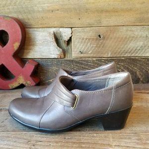 Clarks leather Shooties/ booties